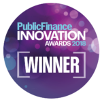 Public Finance Innovation Winner badge