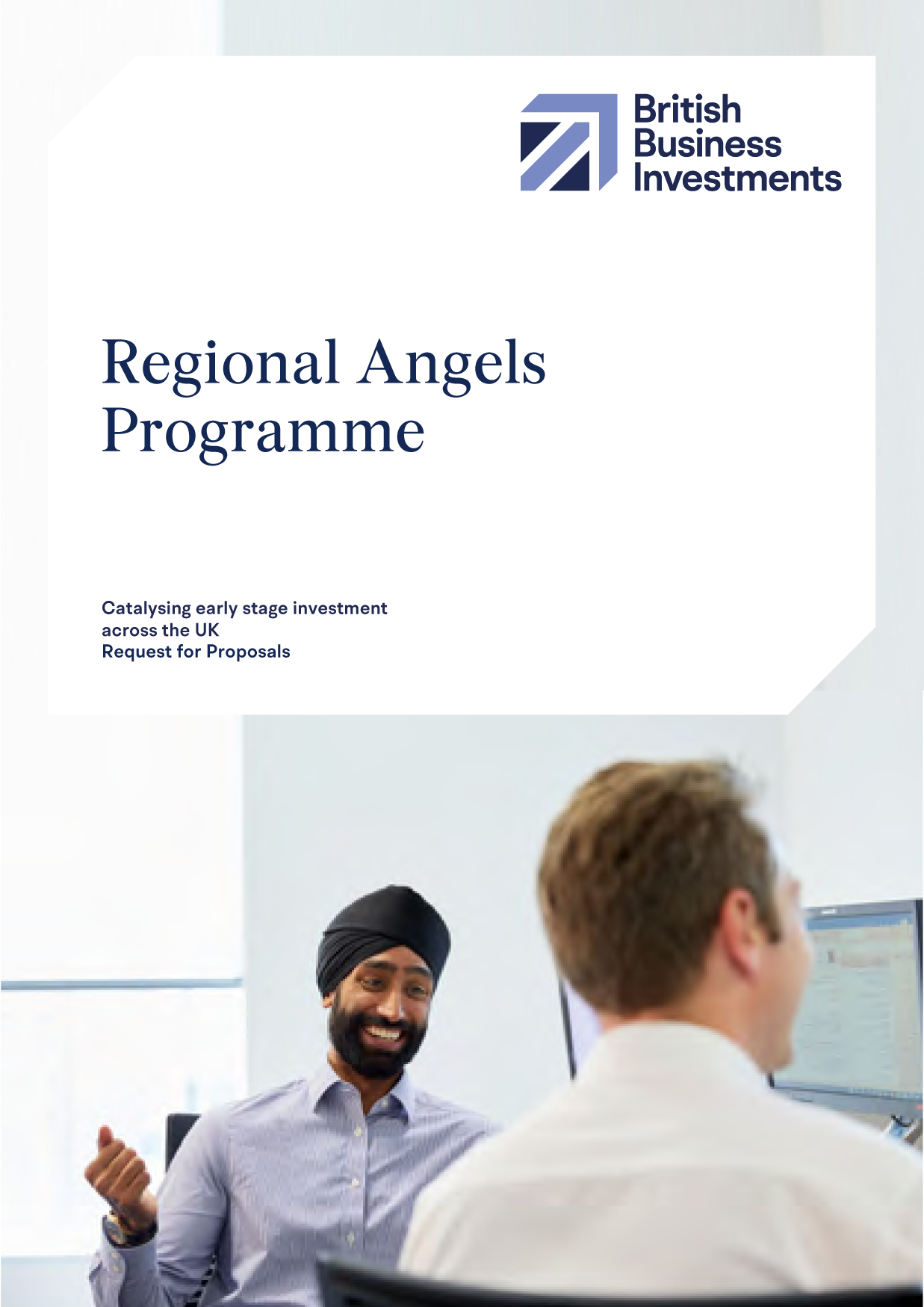 Regional Angels Programme Request for Proposals