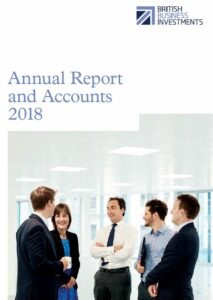 BBI Annual Report cover