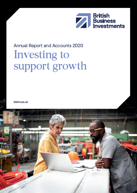 British Business Investments Annual Report Front Cover