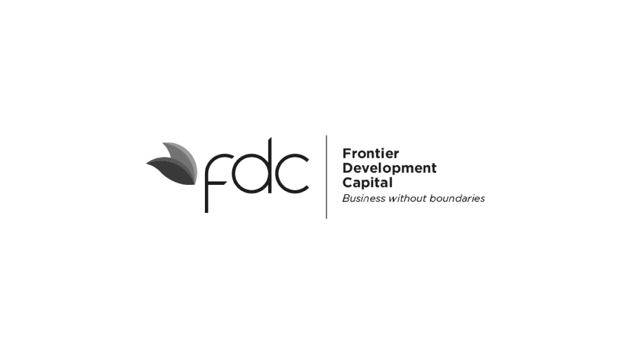 Frontier Development Capital B&W corporate Logo