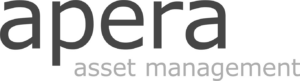 Apera logo black and white